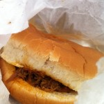 Blue Ribbon Chopped Brisket Sandwich