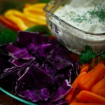 Veggies + Grand Dill Dip