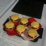 Hamburger cakes