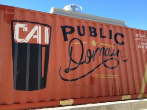 Public Domain Container Bar