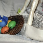 cake show_baby bird in nest