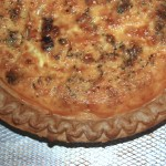 Ready to eat quiche