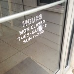 Hours: Closed Monday